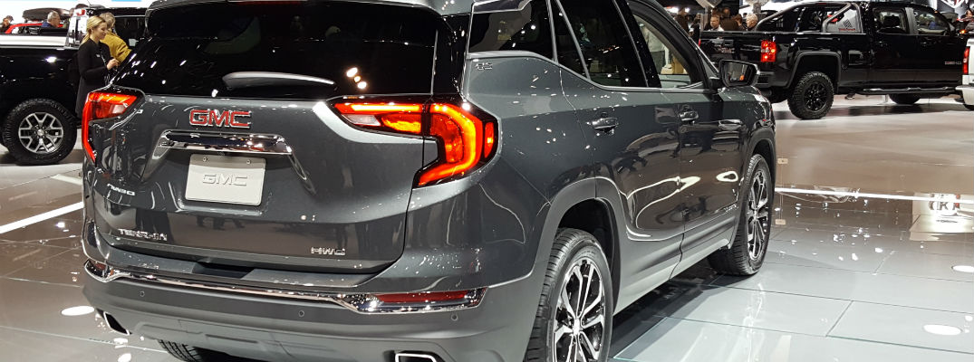 Release date for the 2018 GMC Terrain
