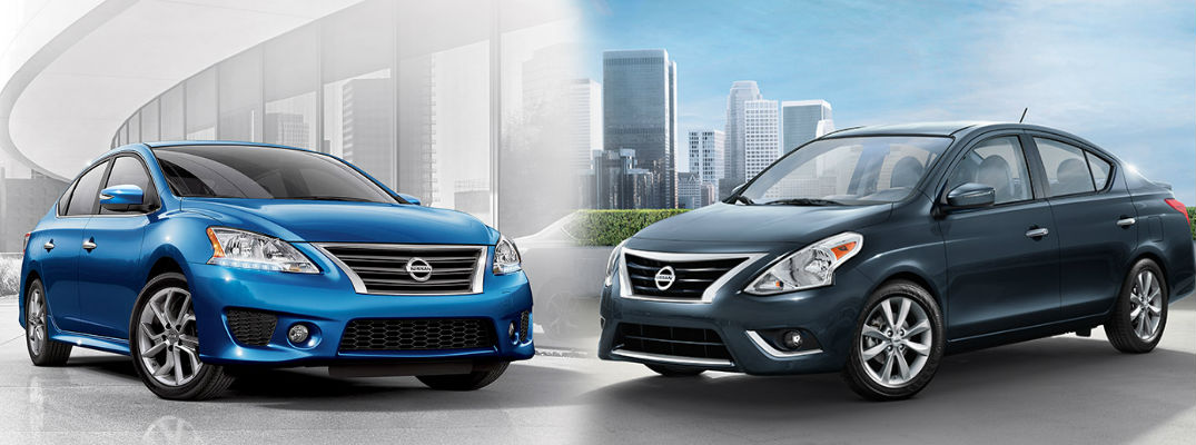 2015 nissan sentra vs 2016 nissan versa. Black Bedroom Furniture Sets. Home Design Ideas