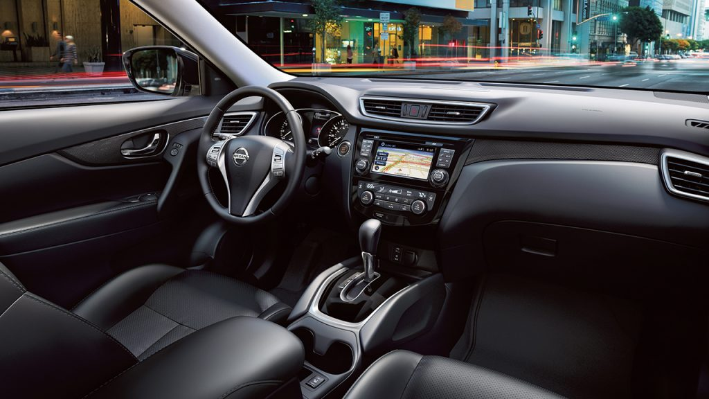 What's included on the 2016 Nissan Rogue SL