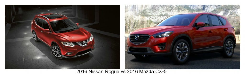 how does nissan rogue compare to the mazda cx 5. Black Bedroom Furniture Sets. Home Design Ideas
