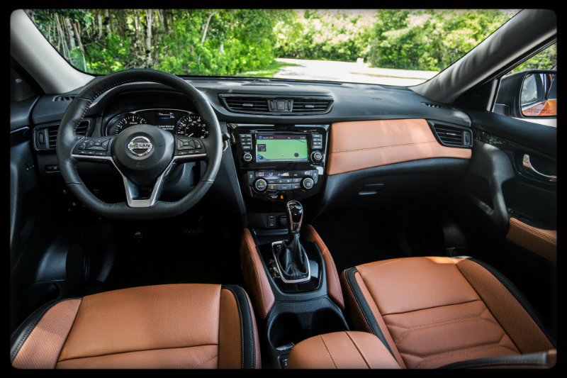 Changes to the 2017 Nissan Rogue