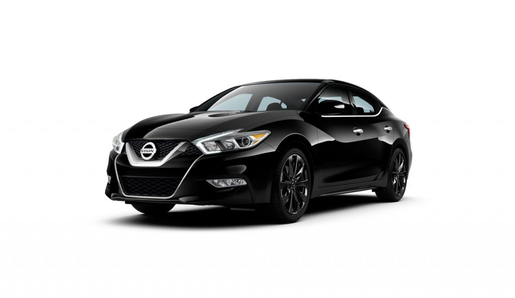 Front View Of The 2017 Nissan Maxima