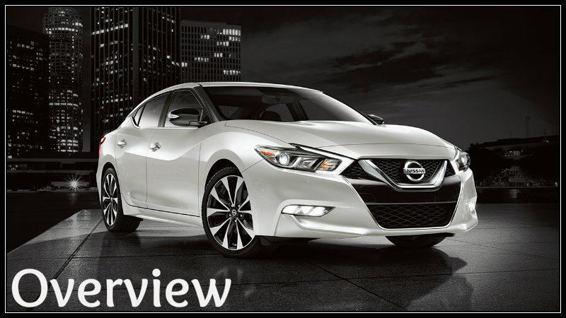 Front View Of 2017 Nissan Maxima White