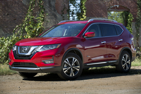 official pricing for the 2017 nissan rogue hybrid. Black Bedroom Furniture Sets. Home Design Ideas