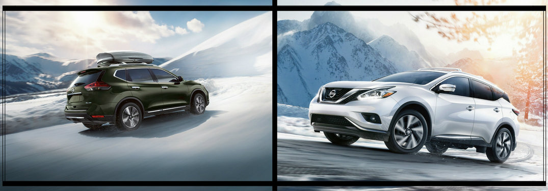 Difference between the 2017 Nissan Rogue and 2017 Nissan Murano