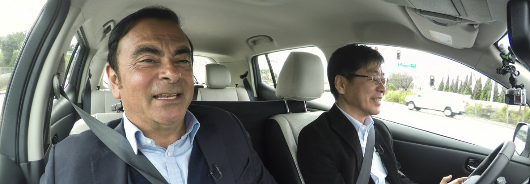 Who is the new CEO of Nissan in 2017