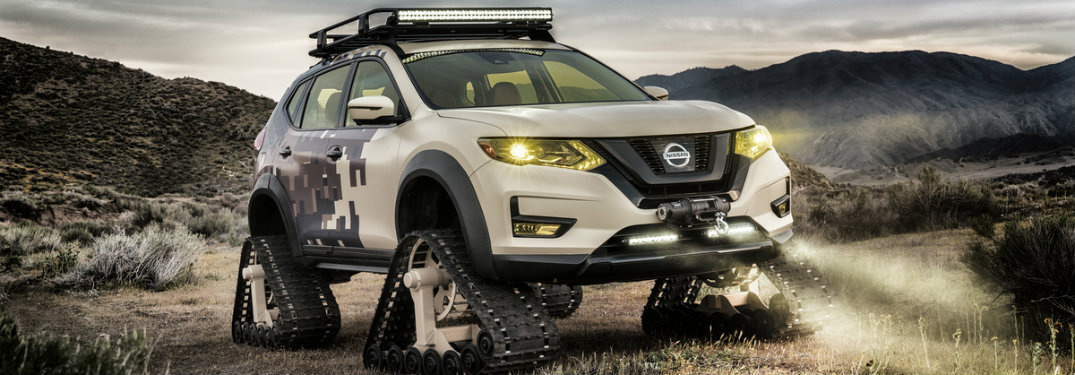 What is the Nissan Rogue Trail Warrior Project