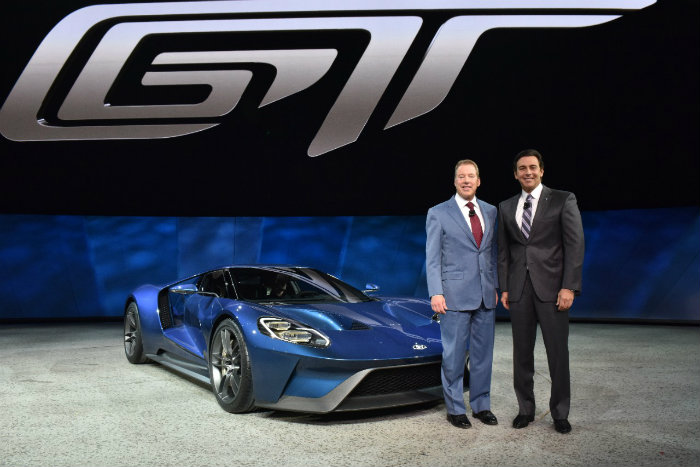Low Production Numbers For The  Ford Gt  Ford Gt Auto Show