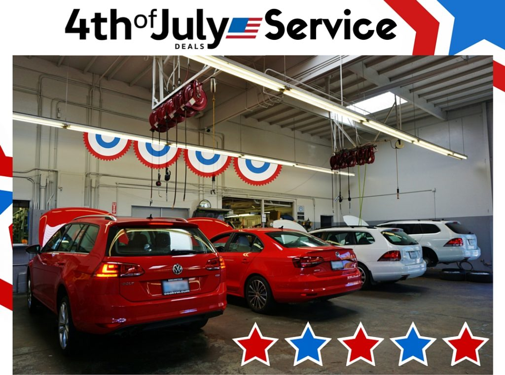 4th of July Service Special