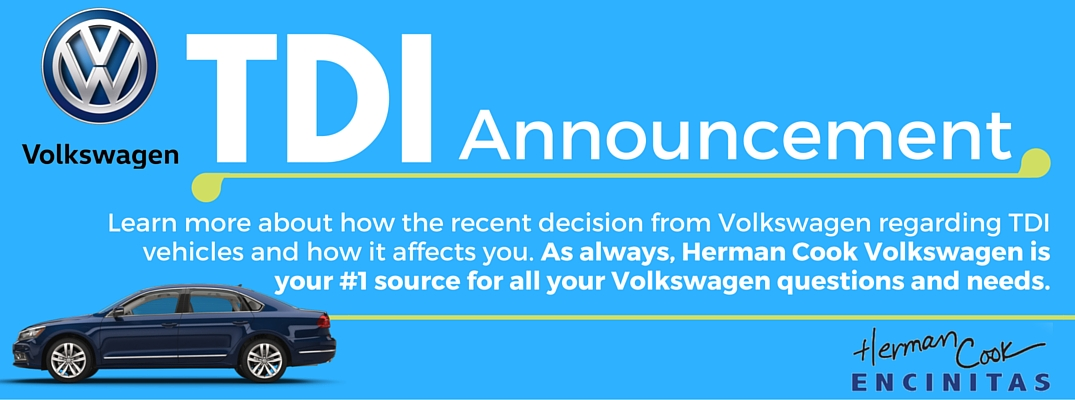 Volkswagen TDI Announcement