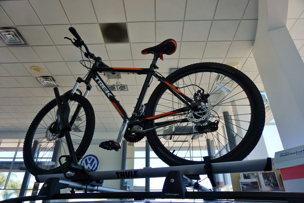 Bike Rack Herman Cook VW Showroom