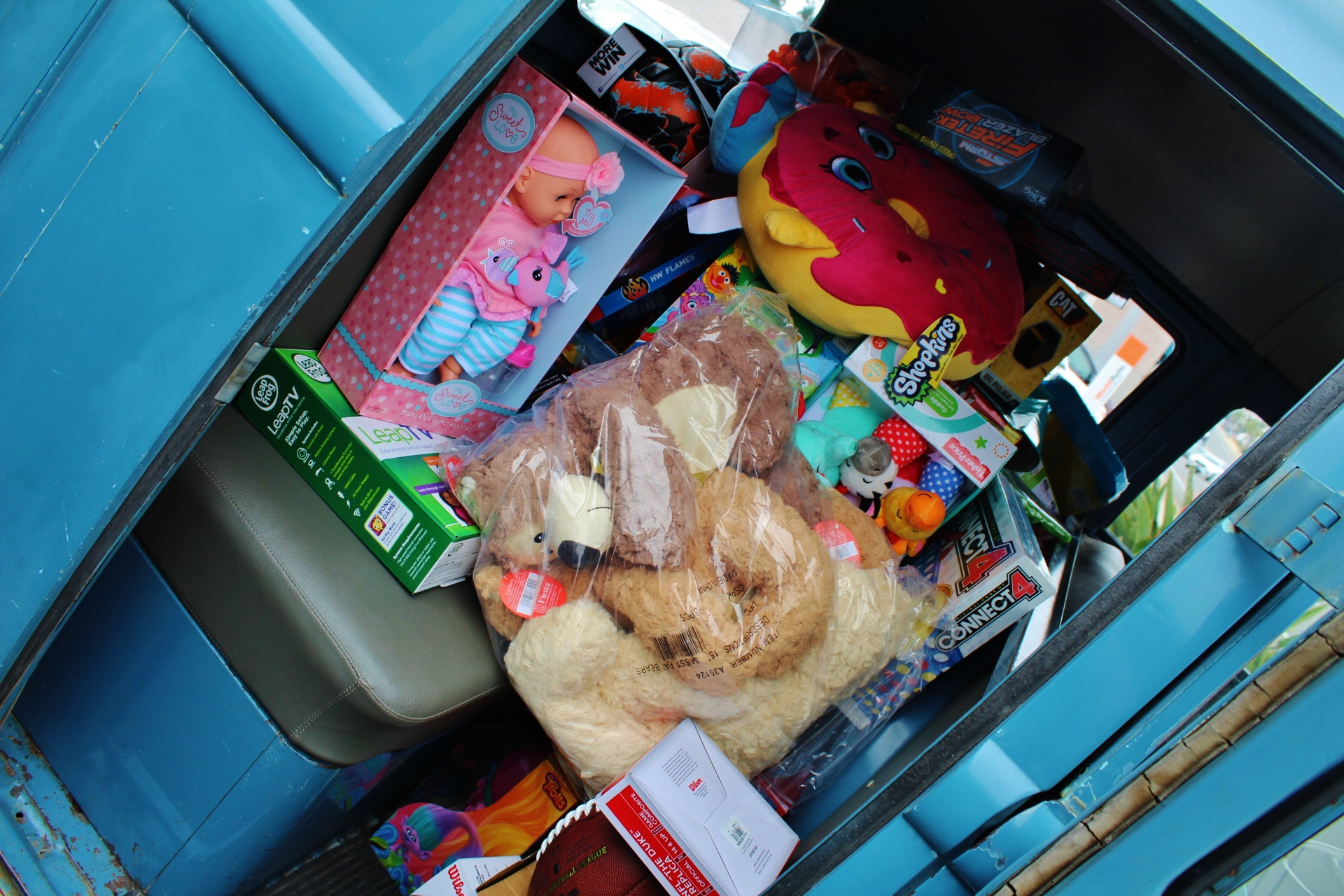 Toys for Tots at HCVW
