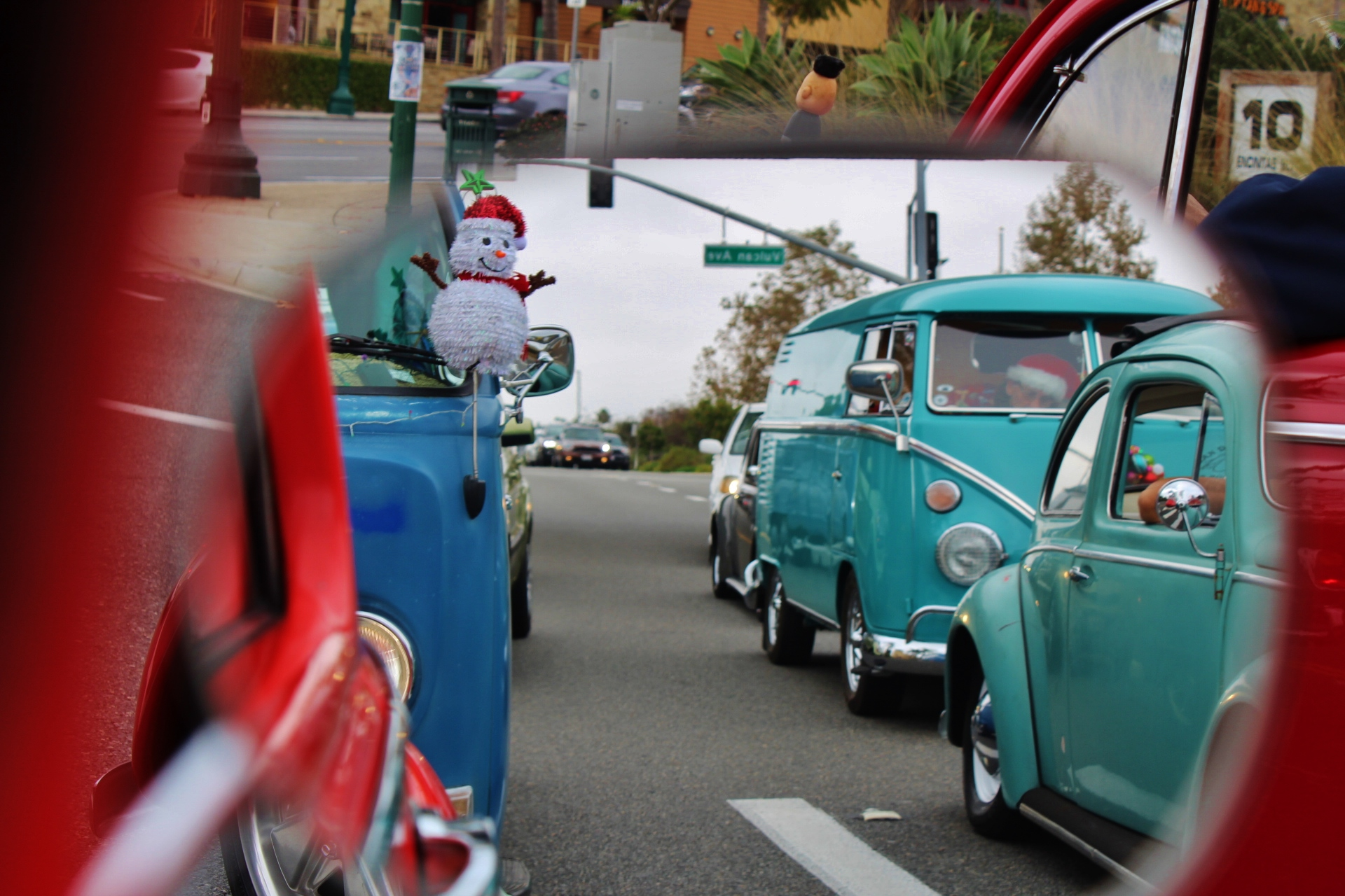 San Diego Air Cooled Vintage Vw Christmas Cruise Cook Vw