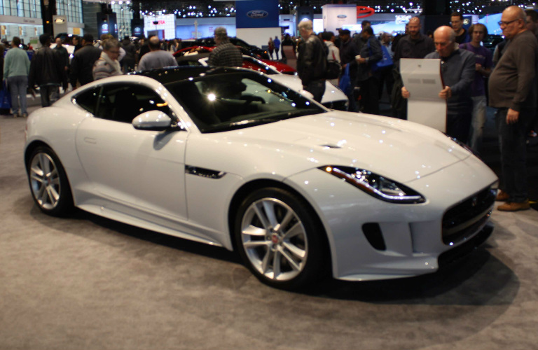 2016 Jaguar F-Type Side - Chicago Auto Show