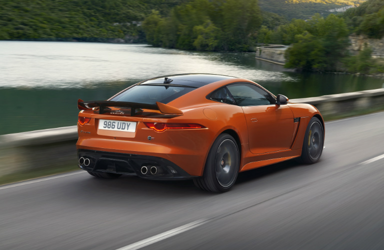 2017 Jaguar SVR Exterior - Rear View