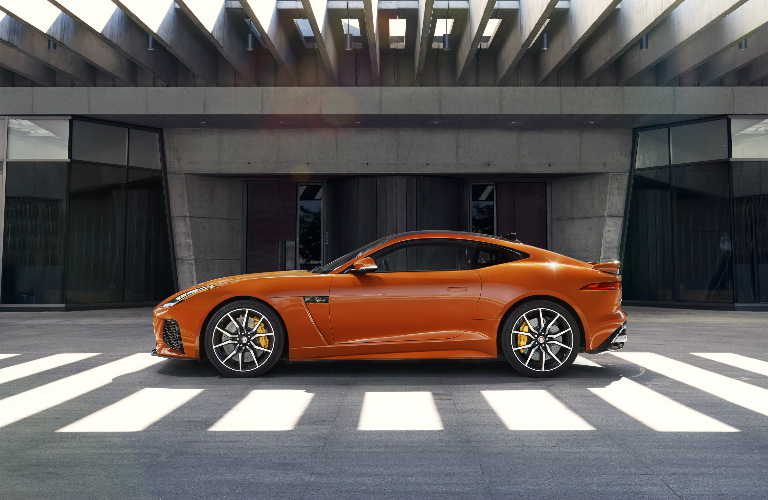 2017 Jaguar SVR Exterior - Side View