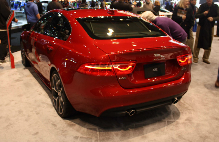 2017 Jaguar XE Rear - Chicago Auto Show
