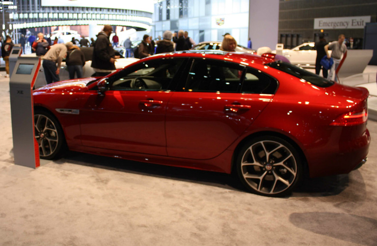 2017 Jaguar XE Side - Chicago Auto Show