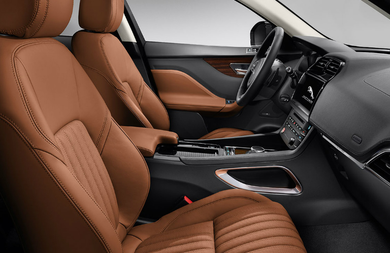 2017 Jaguar F-PACE Interior