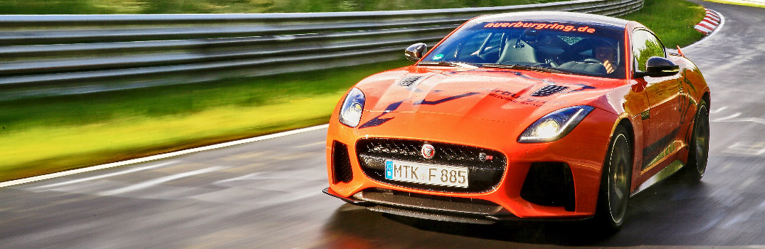 Sports Car Enthusiasts Can Experience the Jaguar F-TYPE SVR at the Nürburgring Nordschleife Racetrack