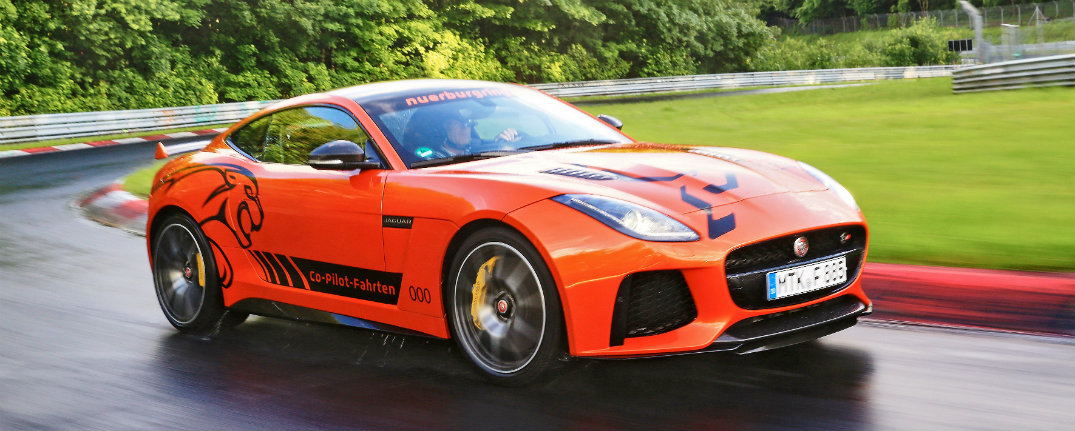 Jaguar F-TYPE SVR and World-Famous Nrburgring Nordschleife