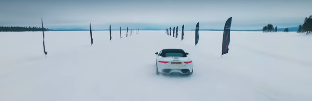 Jaguar Land Rover Opening of Ice Driving Academy in Sweden