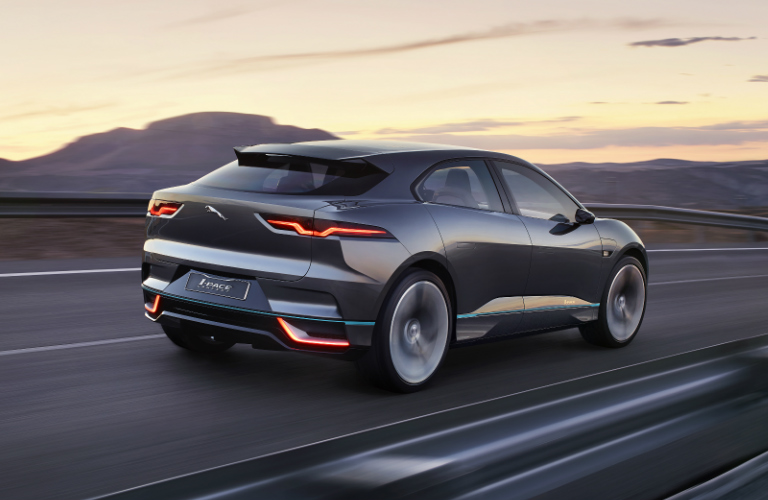 All-Electric Powertrain of Jaguar I-PACE