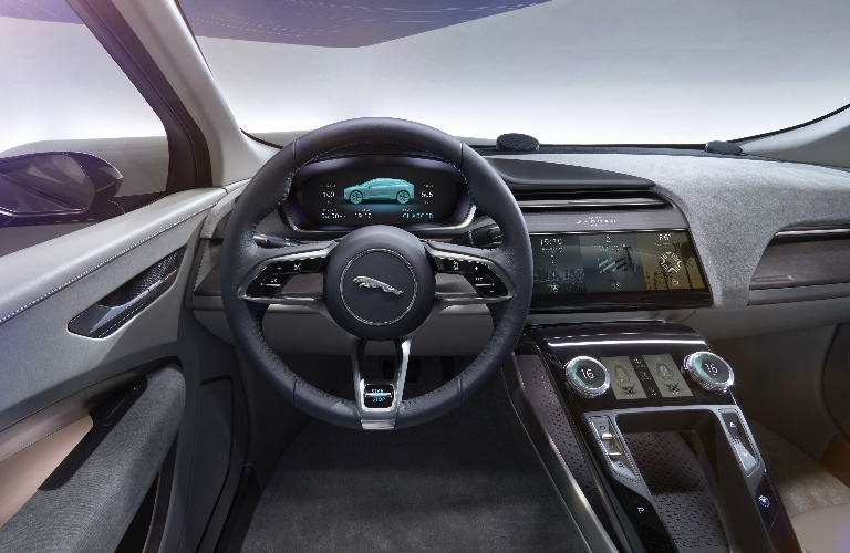 Jaguar I-PACE Interior and Technology