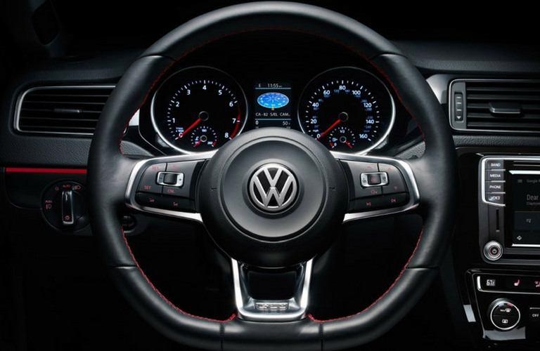 VW steering wheel