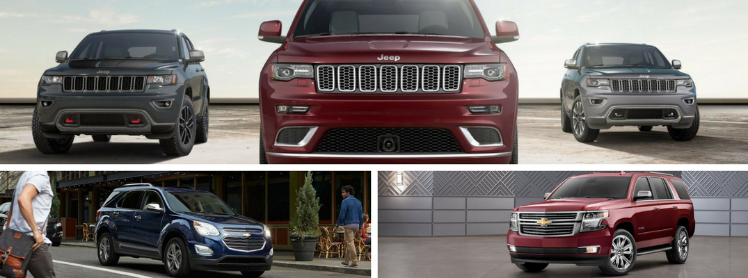 Differences between crossover and SUV models