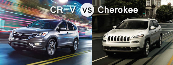 2016 honda cr v vs 2016 jeep cherokee which is best for Jeep compass vs honda crv