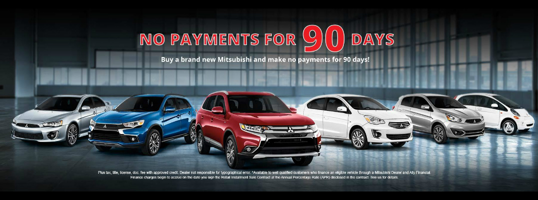 2017 Mitsubishi Special 90 Days No Payments Libertyville IL