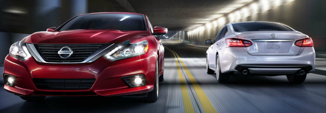 2017 Nissan Altima headlights and taillights