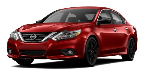 2017 nissan altima midnight edition options. Black Bedroom Furniture Sets. Home Design Ideas