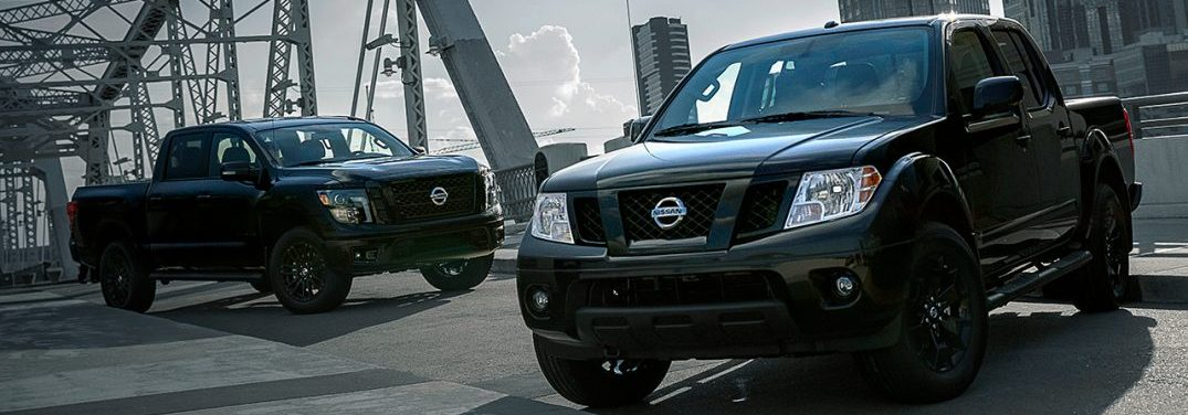 2018 Nissan Titan and 2018 Nissan Frontier Announced as new Midnight Edition Models
