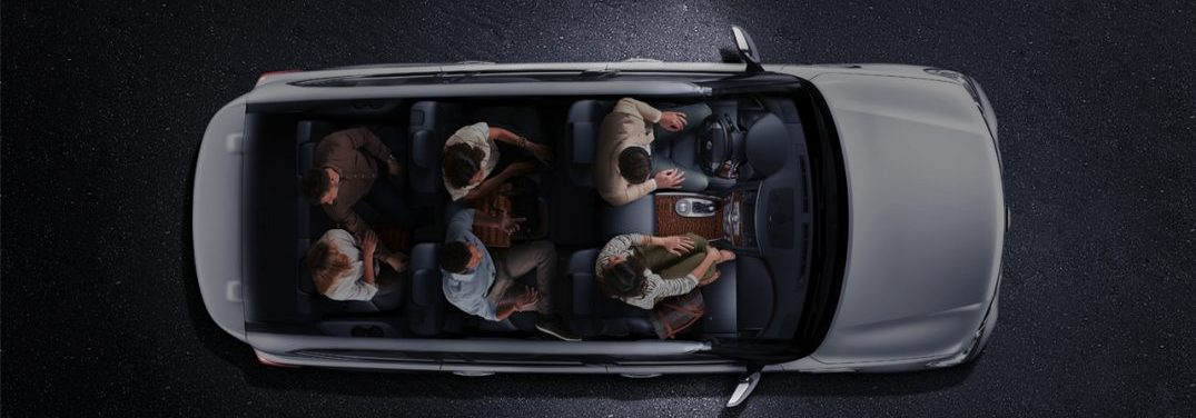 interior space of the 2018 Nissan Armada
