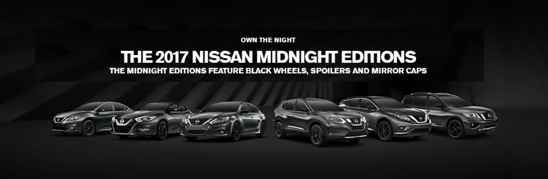 2017 Nissan Midnight Edition Rogue also Altima Pathfinder Maxima Sentra Murano introduction commercial