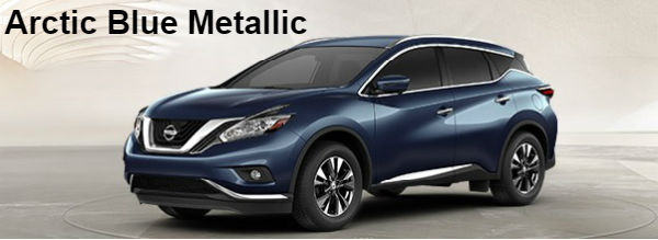 Exterior and interior color options 2017 5 nissan murano suv - Nissan murano 2017 interior colors ...