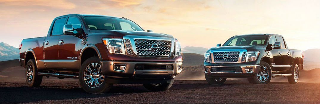 2017 Nissan Titan color options exterior and interior Chesterton IN