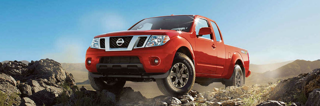 2017 Nissan Frontier exterior color options