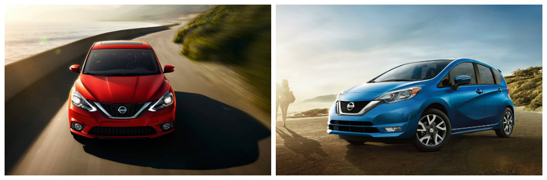 Nissan back-to-school cars 2017 Versa Note and Sentra