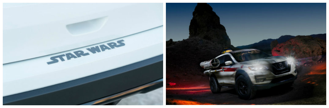 """Nissan and Star Wars marketing partnership for """"Last Jedi"""" movie premieres in 2017"""