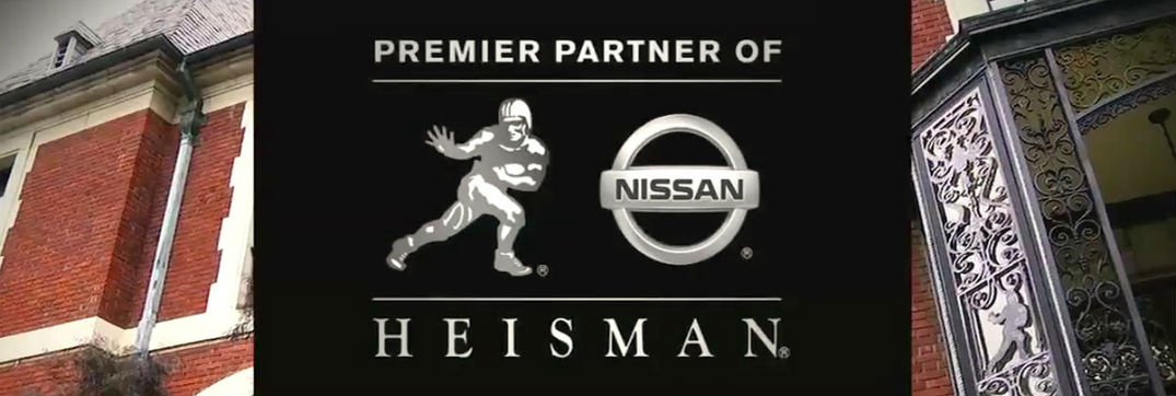 """Nissan Heisman House commercials """"Teboween"""" and """"Trick or Treat"""" Eddie George Johnny Rodgers"""
