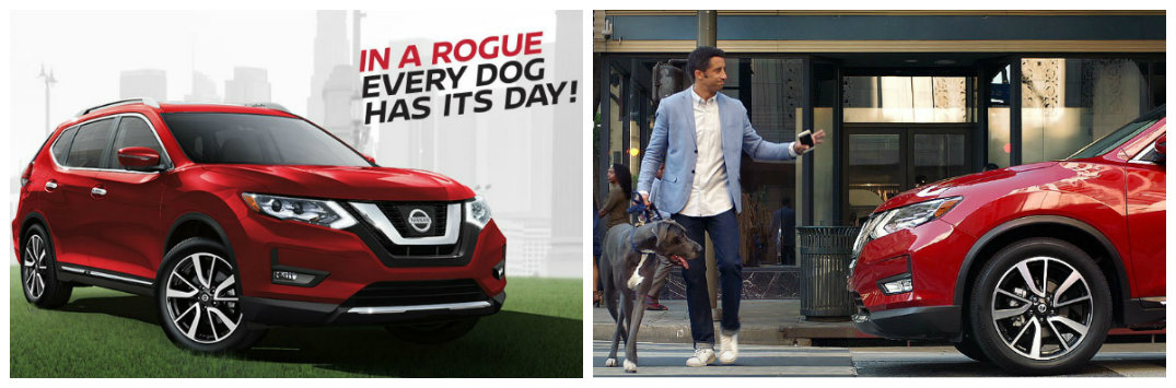 """Nissan Rogue """"New Tricks"""" commercial with dog and family"""