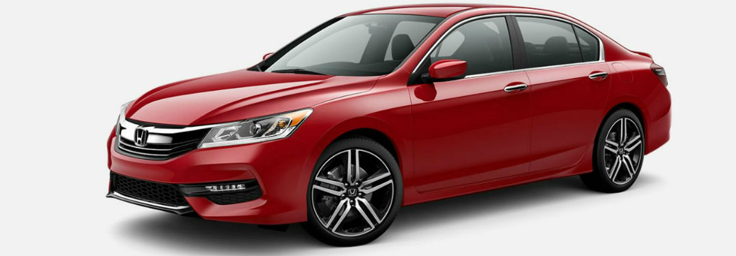 2017 Honda Accord Trim Comparison