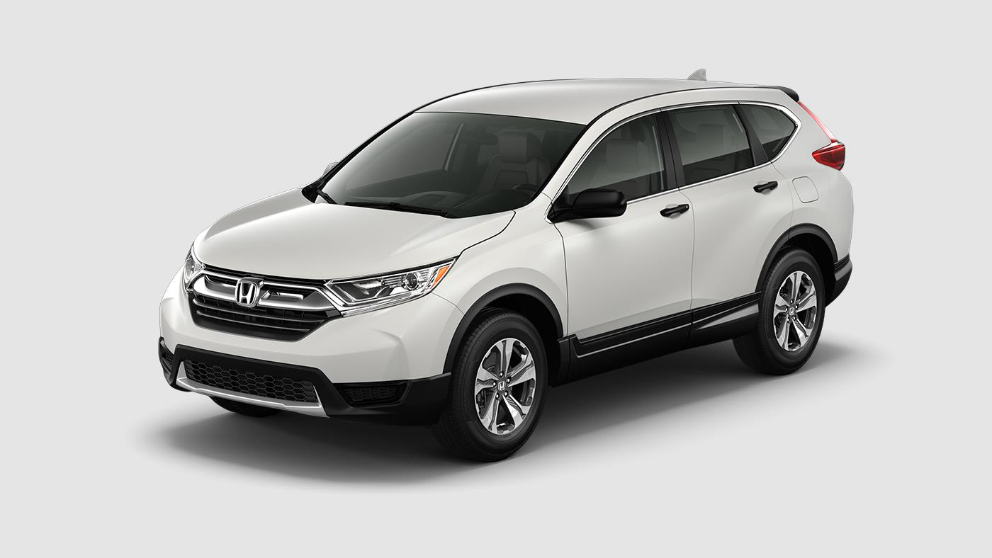 2017 Honda CR-V exterior and interior color options