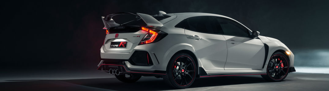 2017 Honda Type R model rear view