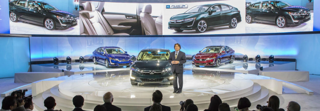 Honda Clarity models introduction and reveal
