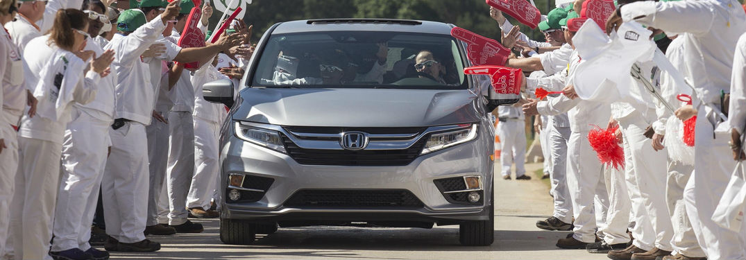 Honda Dealerships In Alabama >> New 2018 Honda Odyssey minivan USA release date