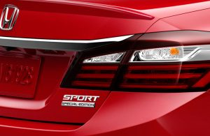 What is the 2017 Honda Accord Sedan Sport Special Edition?